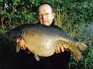 Dave Birrell with the Black Mirror 29lb 9oz - May 2004