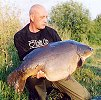 Mark Rand with the magnificent Dippy (RIP) at 48lb caught in 2001