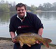 Darren Miller with a 26lb 2oz common - March 2005