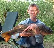 Daryll Griggs with an 18lb Carp _ July 2004