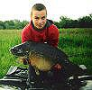Josh Coopers with a 28lb Mirror