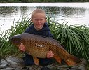 Josh Diggens with a 29lb 2oz common carp
