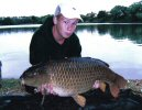 Jak Lewis with a 27lb Carp - June 2005