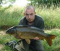 Speedy and a 17lb 12 oz Common
