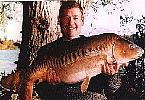 John Willis with a Pristine Carp - Summer 1997