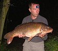 Ray Davis with a 21lb 2oz common - 2004