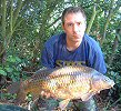 Ray Davis with a 23lb 4oz common - 2004