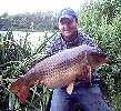John Robertson with a 29lb 9oz Carp - June 2005