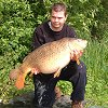 Scott Clark with a 35lb 8oz Common - June 2002