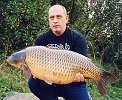 Mark Rand with a 30lb+ Common caught in 2001