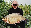 Tom Baker with a 13lb 2oz Bream - 1999