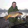 Terry White with a 24lb 2oz Common - March 2005