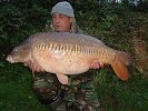 Mark Rand with Vanessa at 36lb 40z - Summer 2004